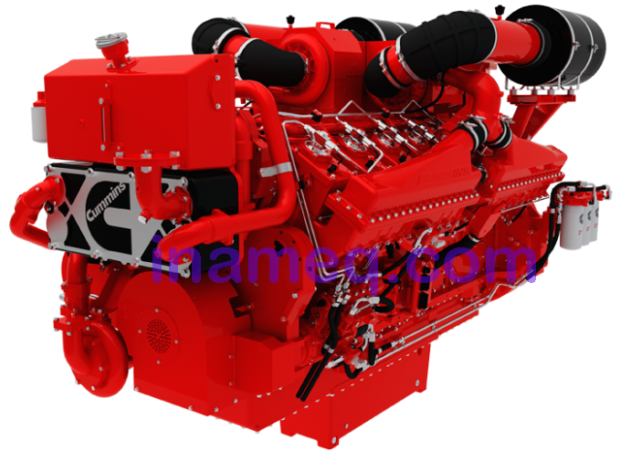 Engine Marine type QSK50 Cummins | Indonesia Marine Equipment